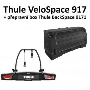 Thule VeloSpace 917 + Thule BackSpace 9171