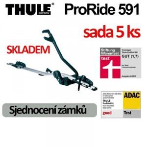 Thule ProRide 591 sada 5 ks