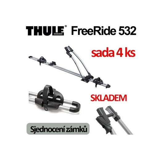 Thule FreeRide 532 sada 4 ks