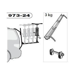 Thule BackPac 973-24 adaptér pro 4 kolo