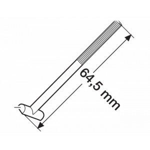 "Šroub ""T"" upínací 64mm (Thule 50554) pro Thule 591"