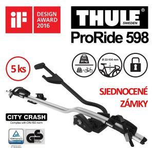 Thule ProRide 598 sada 5 ks