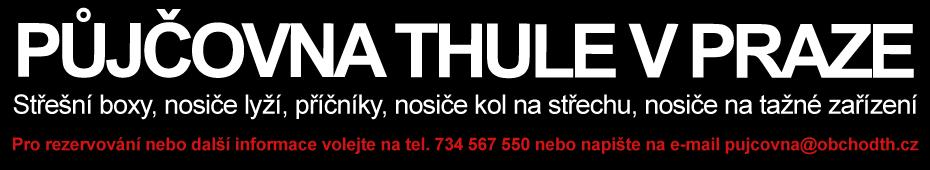 Půjčovna Thule Praha
