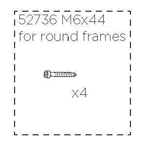 Šroub M6x44 52736