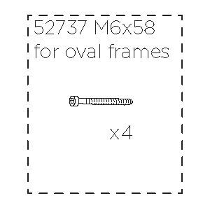 Šroub M6x58 52737