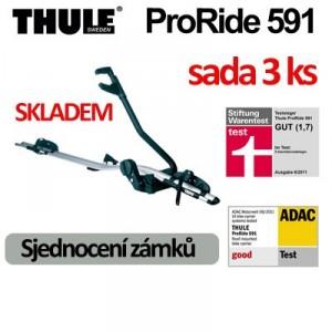 Thule ProRide 591 sada 3 ks