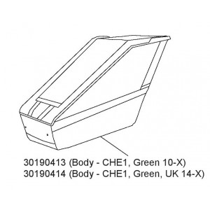Tělo Green CHE1 30190414 14-x