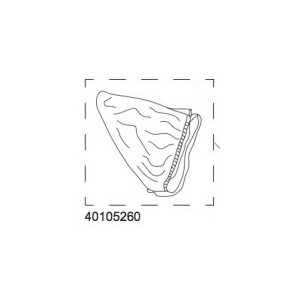Mesh cover - Bassinet 15-X Thule 40105260