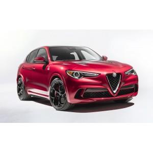 Příčníky Alfa Romeo Stelvio 17- s integrovanými podélníky