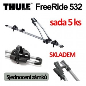 Thule FreeRide 532 sada 5 ks