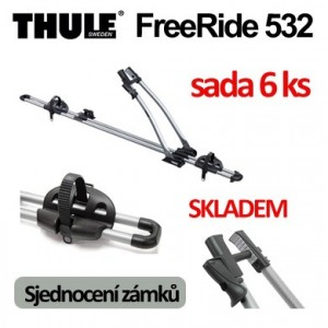 Thule FreeRide 532 sada 6 ks