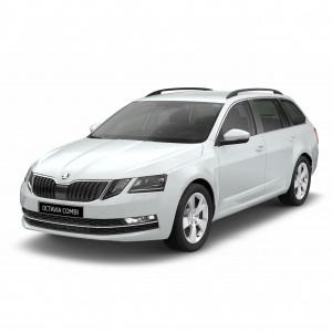 Příčníky Thule Škoda Octavia III Combi 2013- s podélníky