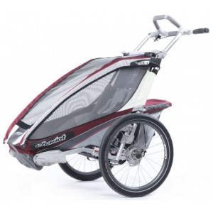 Chariot CTS CX1 2013 Burgundy Disc + bike set