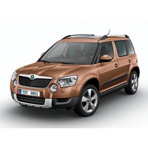 Příčníky Thule WingBar Edge Škoda Yeti 2009- s podélníky
