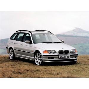 Příčníky Thule WingBar Edge BMW 3 Touring E46 1996-2005 s podélníky
