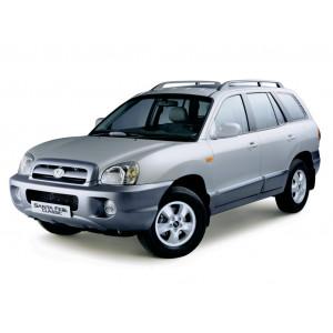 Příčníky Thule WingBar Edge Hyundai Santa Fé 2000-2005 s podélníky