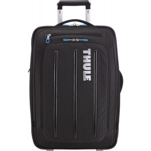 Thule Crossover 38 l pojízdný kufr na ramena - černý