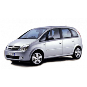 Příčníky Thule WingBar Opel Meriva 2003-2009 s pevnými body