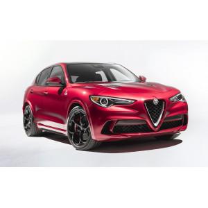 Příčníky Thule WingBar Edge Alfa Romeo Stelvio 2017- s integrovanými podélníky