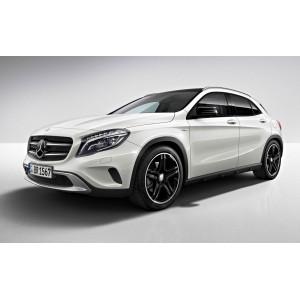 Příčníky Thule WingBar Edge Mercedes-Benz GLA 2014- s integrovanými podélníky