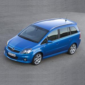 Příčníky Thule WingBar Edge Opel Zafira 2007-2013 s integrovanými podélníky