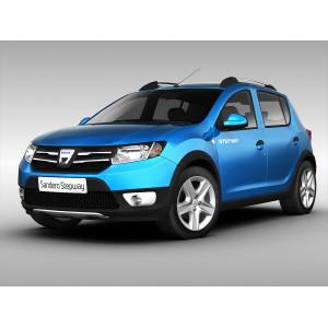 Příčníky Thule WingBar Edge Dacia Sandero Stepway 2013- s podélníky