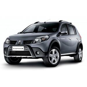 Příčníky Thule WingBar Edge Dacia Sandero Stepway 2009-2012 s podélníky