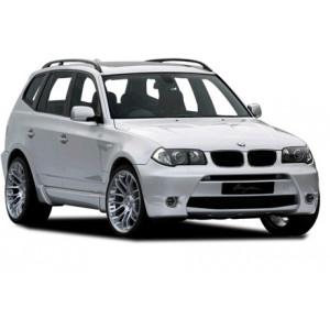 Příčníky Thule WingBar Edge BMW X3 E83 2003-2010 s podélníky