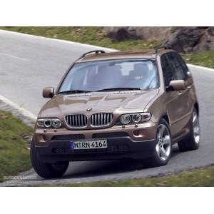 Příčníky Thule WingBar Edge BMW X5 E53 2000-2007 s podélníky