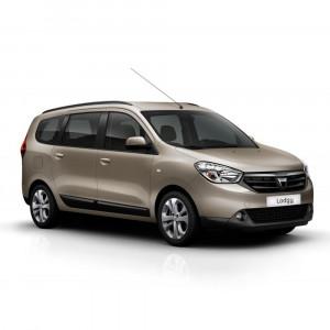 Příčníky Thule WingBar Edge Dacia Lodgy 2012– s integrovanými podélníky