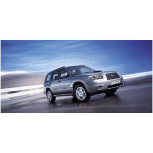 Příčníky Thule WingBar Edge Subaru Forester 2003-2007 s integrovanými podélníky