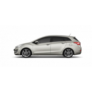 Příčníky Thule WingBar Edge Black Hyundai i30 CW kombi 2012-2017 s pevnými body