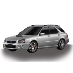 Příčníky Subaru Impreza kombi 93-10 s podélníky Aero