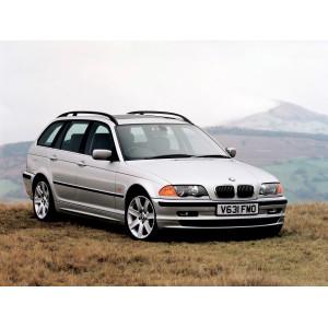 Příčníky Thule WingBar BMW 3 Touring E46 E91 1996-2011 s podélníky