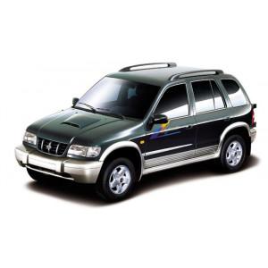 Příčníky Thule WingBar Kia Sportage 1996-2009 s podélníky