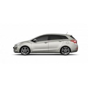 Příčníky Thule WingBar Black Hyundai i30 CW kombi 2012-2017 s pevnými body