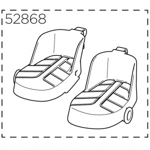Thule Foot support L+R RA Lite 52868