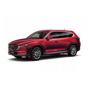 Příčníky Thule Mazda CX-8 2018- s integrovanými podélníky