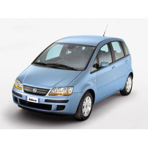Příčníky Thule WingBar Black Fiat Idea 2003-2012 s pevnými body