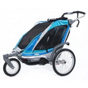 Thule Chariot Chinook 2 2014 Blue + dárek zdarma