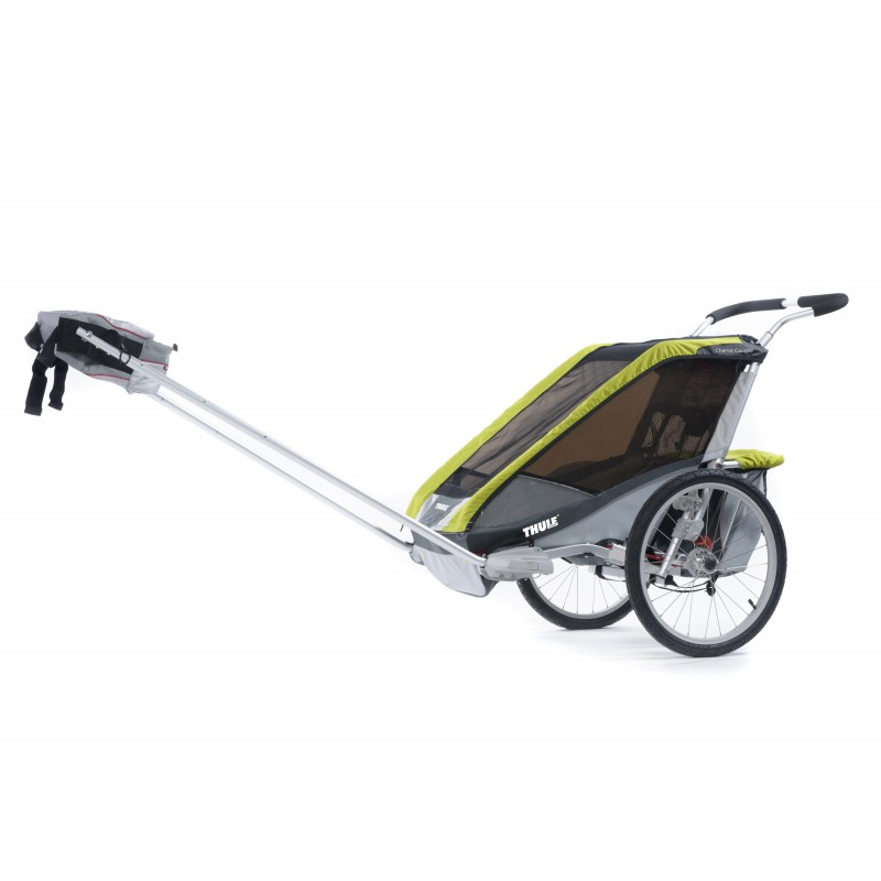 thule chariot cougar 1 2014 avocado bike set obchod. Black Bedroom Furniture Sets. Home Design Ideas