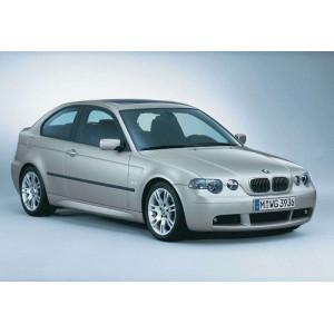 Příčníky Thule WingBar BMW 3 Compact E46 2001-2004 s pevnými body