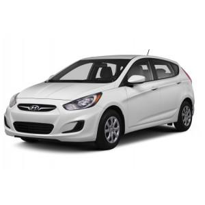 Příčníky Thule Hyundai Accent 2012- s pevnými body