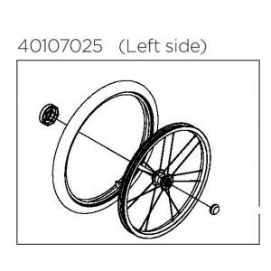 "Thule Wheel Assembly L 18"" 40107025"
