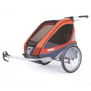 Thule Chariot Corsaire 2 2014 + bike set