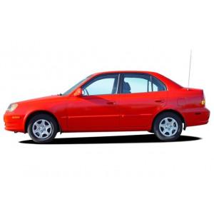 Příčníky Thule WingBar Hyundai Accent 4dv. Sedan 2000-2005