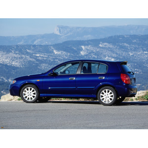 Příčníky Thule Nissan Almera 5dv. Hatchback 2000-2006