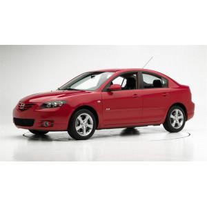 Příčníky Thule WingBar Black Mazda 3 4dv. Sedan 2004-2008