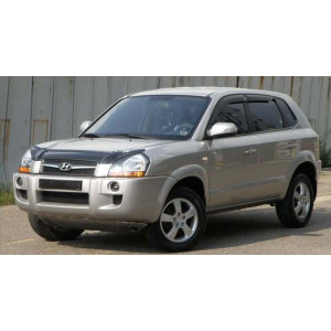 Příčníky Thule WingBar Black Hyundai Tucson 2004-2009