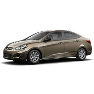 Příčníky Thule Hyundai Accent 4dv. Sedan 2011-